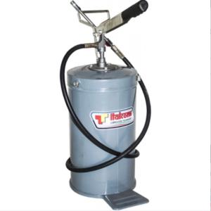 Ingrassatore pompa a barile manuale a leva 15 Kg con tubo e testina